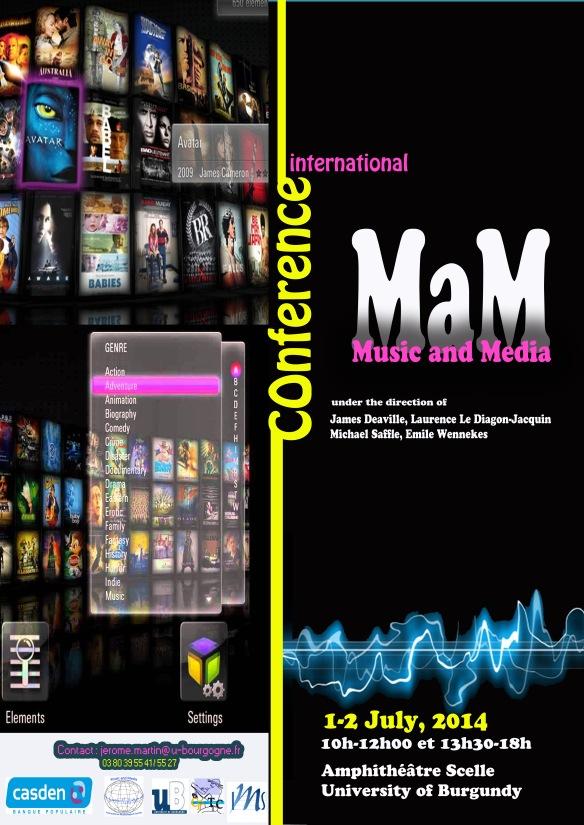MaM Conference University of Burgundy, France July 1-2, 2014